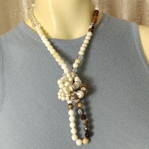 Designer Natural Marble Necklace